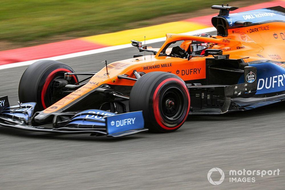 Sainz et McLaren n'espèrent pas la pluie en course