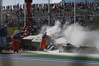 Vídeo: un accidente bestial pone fin al domingo de la F2 en Sochi