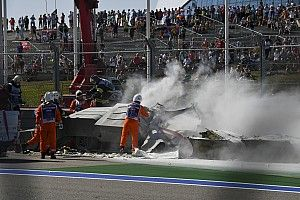 Ciężka kraksa w Formule 2