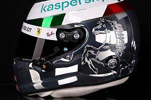 El casco que Vettel usará en Italia para agradecer a los tifossi