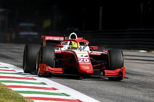 F2: Schumacher bate e abrevia quali em Monza; Ilott é pole e Drugovich é 12º