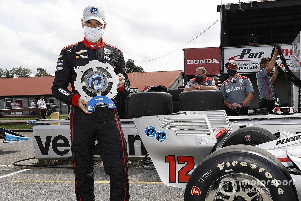 IndyCar Mid-Ohio: Power claims 60th pole for Race 1