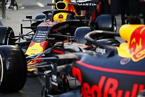 Verstappen en Albon in actie op Circuit Zandvoort