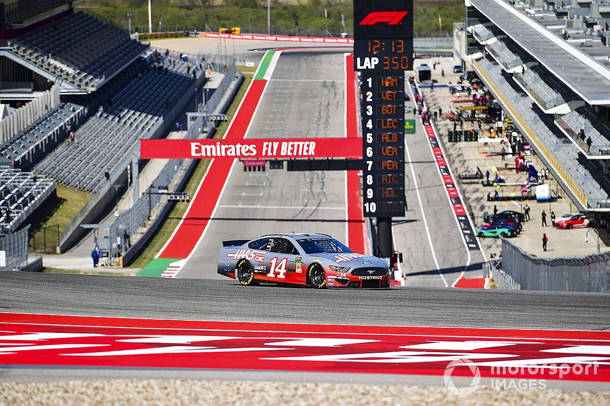 NASCAR to run 3.41-mile Circuit of the Americas layout