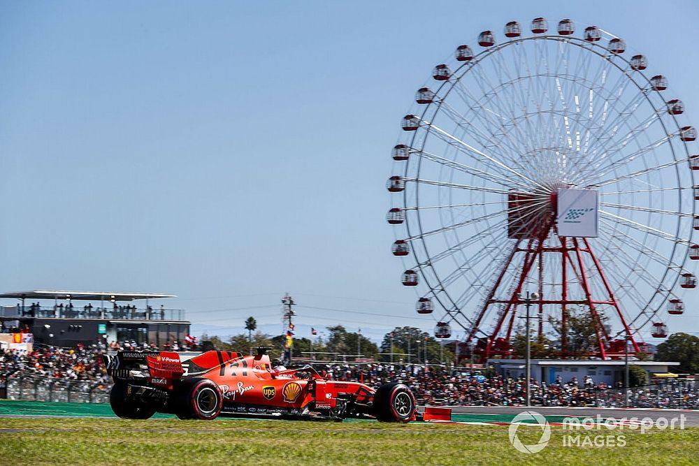 F1: ufficiale anche la cancellazione del GP del Giappone
