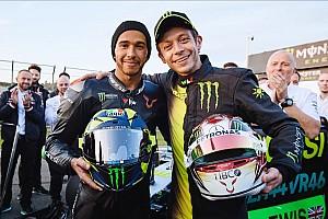 Scambio Rossi-Hamilton: ecco il video ufficiale di Valencia