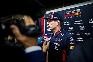"""Verstappen : """"Je suis probablement trop franc et direct"""""""