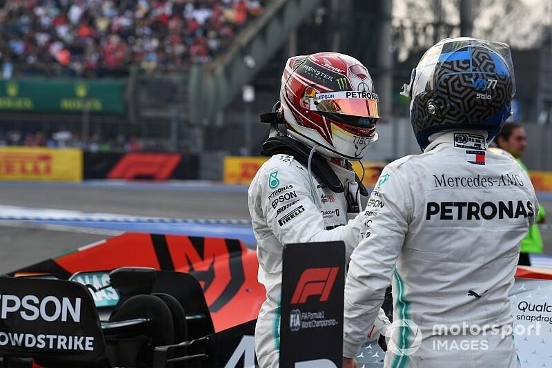 Bottas szerint csökken Hamilton előnye vele szemben a Mercedesnél