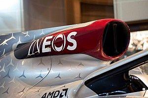 Mercedes: per lo sponsor Ineos diventa un po' Rossa!