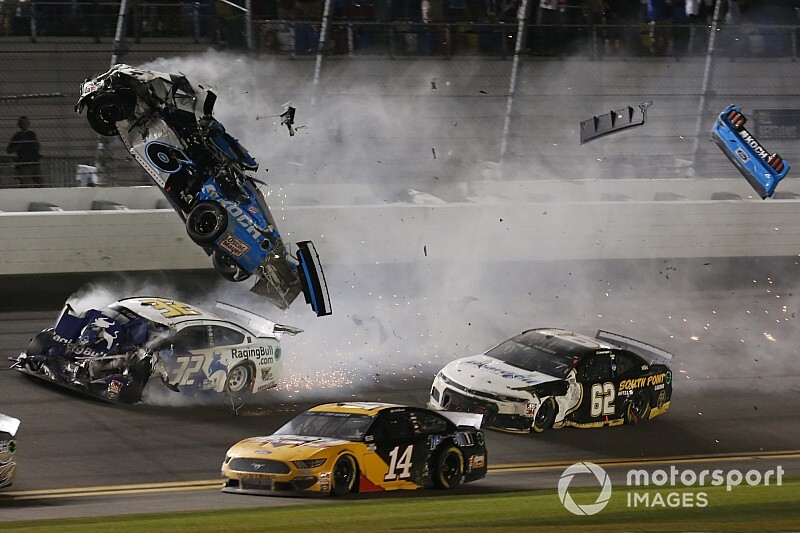 """Ryan Newman talks 500 crash: """"I was knocked out"""""""