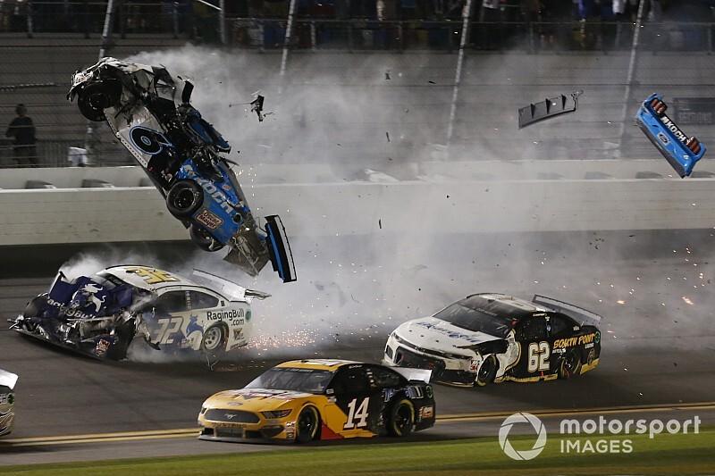 """Newman, tras su terrible accidente en Daytona: """"Me quedé KO"""""""
