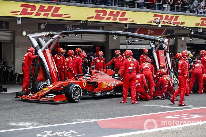 Феттель остался недоволен стратегией Ferrari