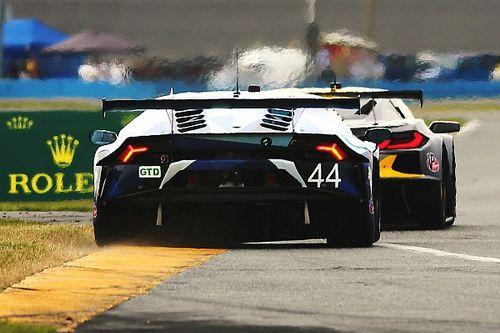 Daytona: quattro Lamborghini punite per una infrazione sul cambio