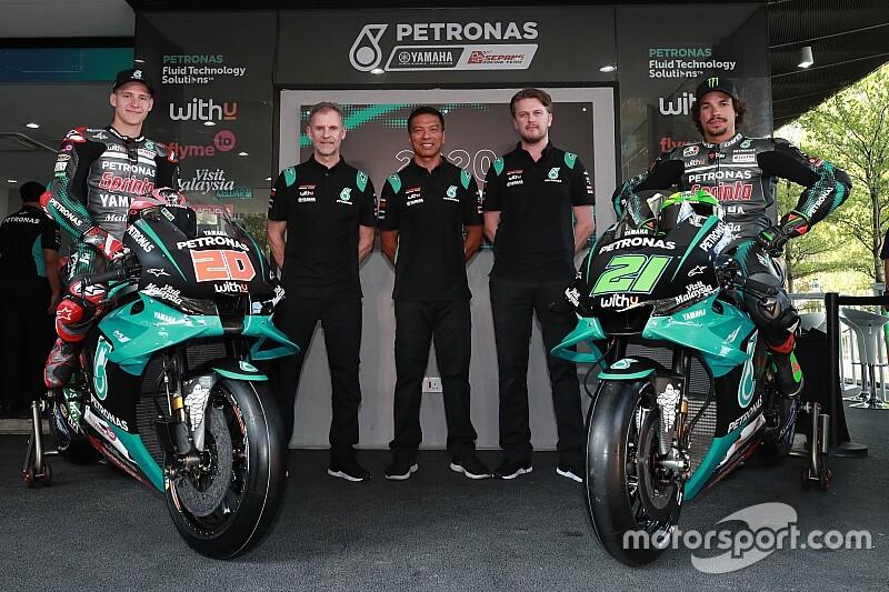 Morbidelli n'aura pas la même moto que les autres pilotes Yamaha