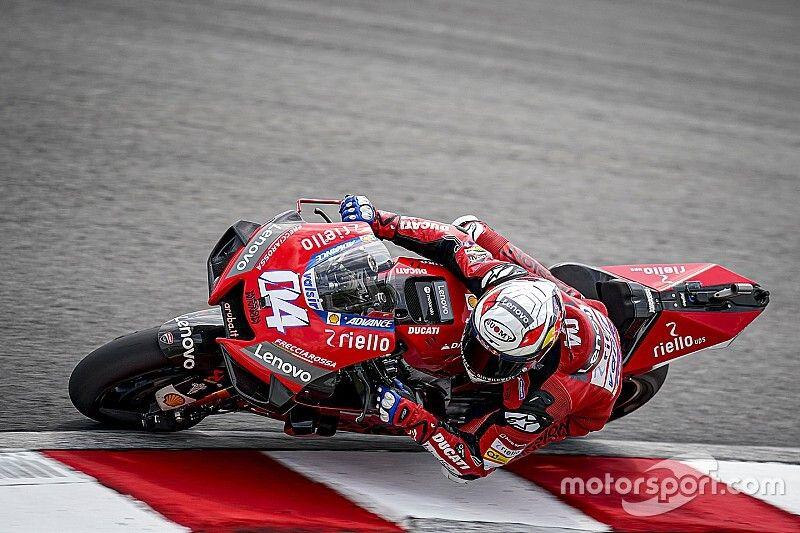 Pour Dovizioso, le nouveau pneu convient mieux aux Yamaha