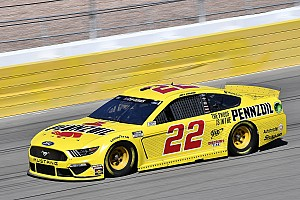 Joey Logano repeats as Las Vegas winner in wild finish