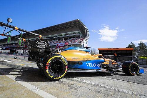 Découvrez les nouveautés techniques de la McLaren MCL35