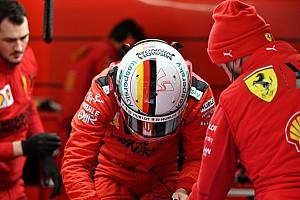 Vettel, descontento con el peso de los Fórmula 1 actuales