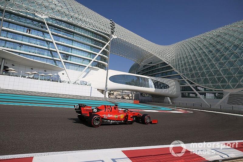 GALERÍA: los dos días de pruebas de la F1 en Abu Dhabi