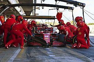 Ferrari SF1000: Vettel sente più grip, per Leclerc è drag
