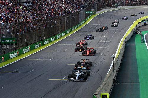 """F1 considera nova regra para recriar relargada """"mágica"""" do GP do Brasil"""