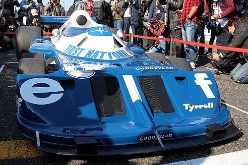"""""""6輪F1""""ティレルP34が鈴鹿を走行。サウンド・オブ・エンジンが開催"""