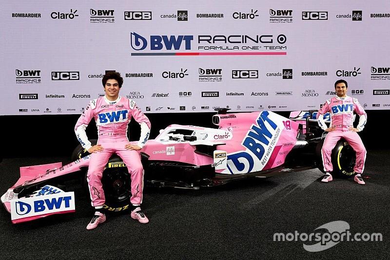Megérkezett a Racing Point 2020-as F1-es autója: új festés
