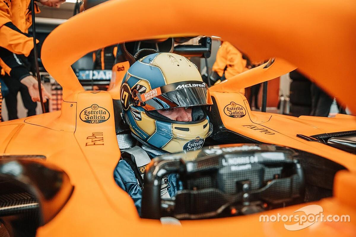 Norris, F1'e dönüş ile beraber büyük bir şok etkisi olmasını bekliyor