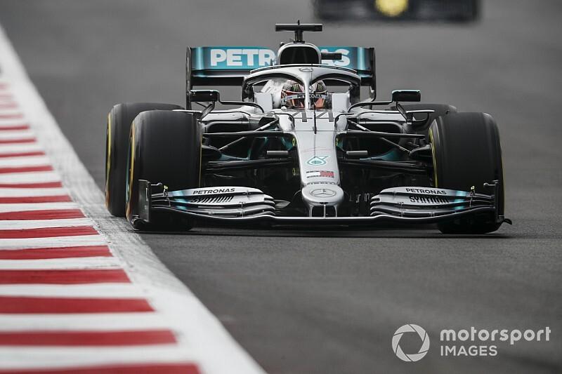 F1メキシコFP1:ハミルトン首位も、フェラーリ優位か? フェルスタッペン3番手