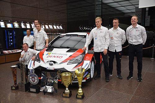 WRC: Toyota festeggia a Tokyo il titolo Mondiale di Tanak
