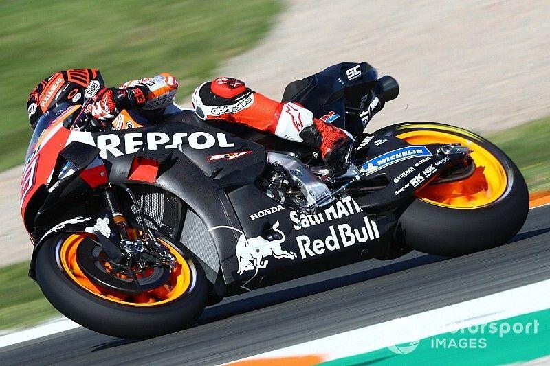 """Marquez: """"Oggi non male, ma ho fatto un incidente molto strano"""""""