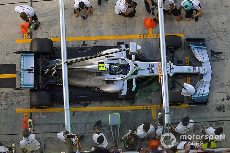 Bottas doit de nouveau changer de moteur Mercedes