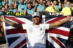"Hamilton still ""working on a masterpiece"" in F1"