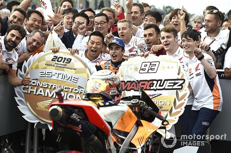 La triple couronne s'annonce difficile pour Honda, selon Márquez