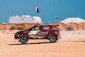 العطية في الصدارة والمشاكل تلاحق ميك مع نهاية اليوم الثاني لرالي قطر الدولي