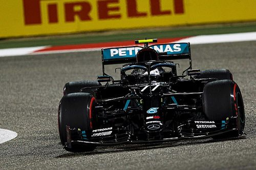 Bottas bate Russell e crava a pole do GP de Sakhir de Fórmula 1