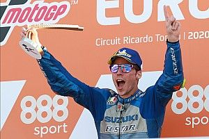 European MotoGP: Mir scores maiden win in Suzuki 1-2