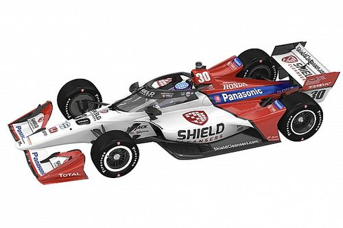 RLL reveals new five-race primary sponsor for Sato