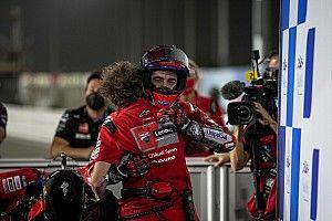 """Bagnaia: """"Il motore mi ha salvato il podio!"""""""