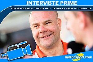 """Adamo oltre il titolo WRC: """"COVID, la sfida più difficile"""""""