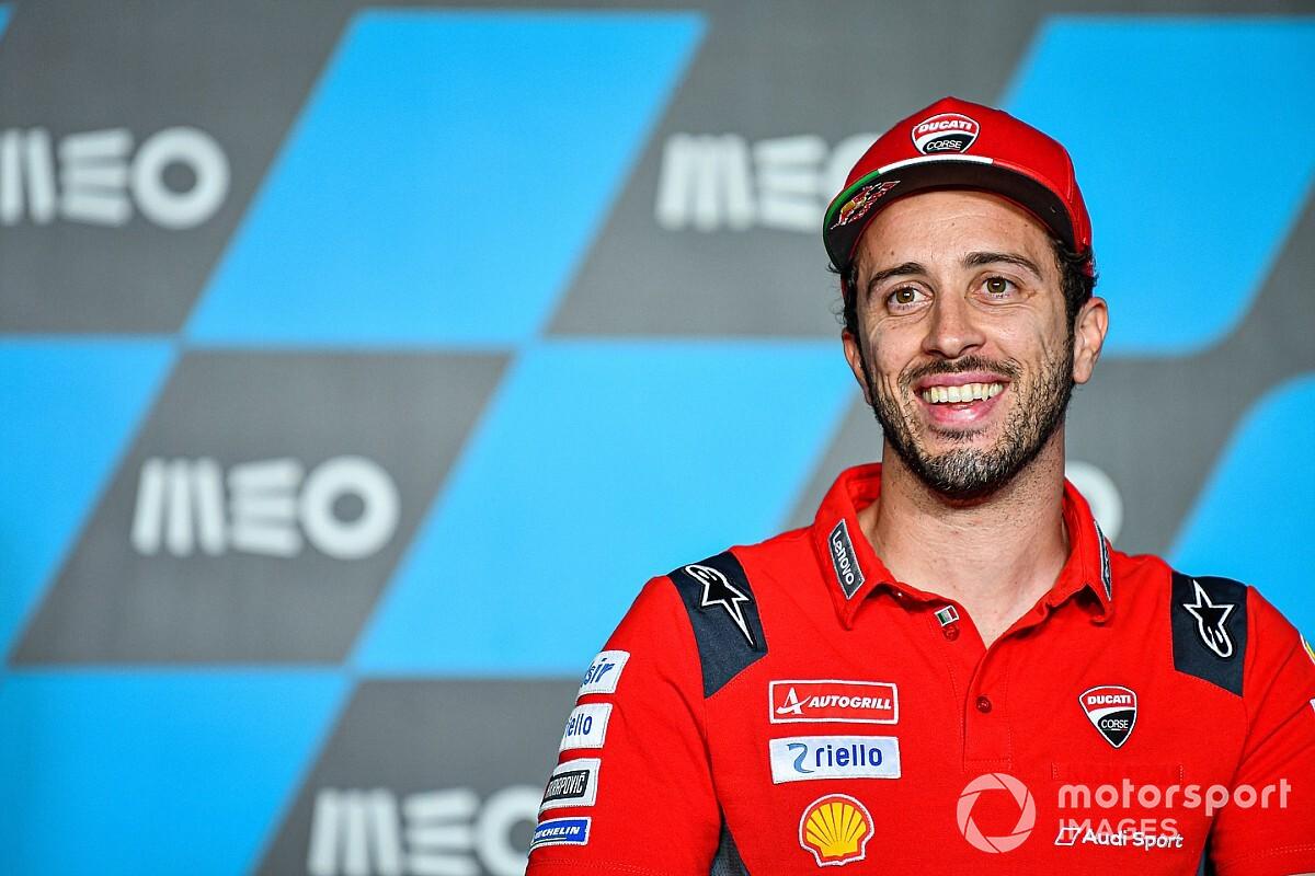 """Dovizioso: """"In Ducati ho fatto emozionare la gente, che figata"""""""