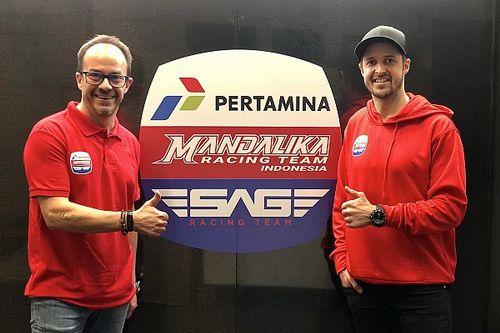 Resmi: Mandalika Racing Team Indonesia Kolaborasi dengan SAG Team di Moto2
