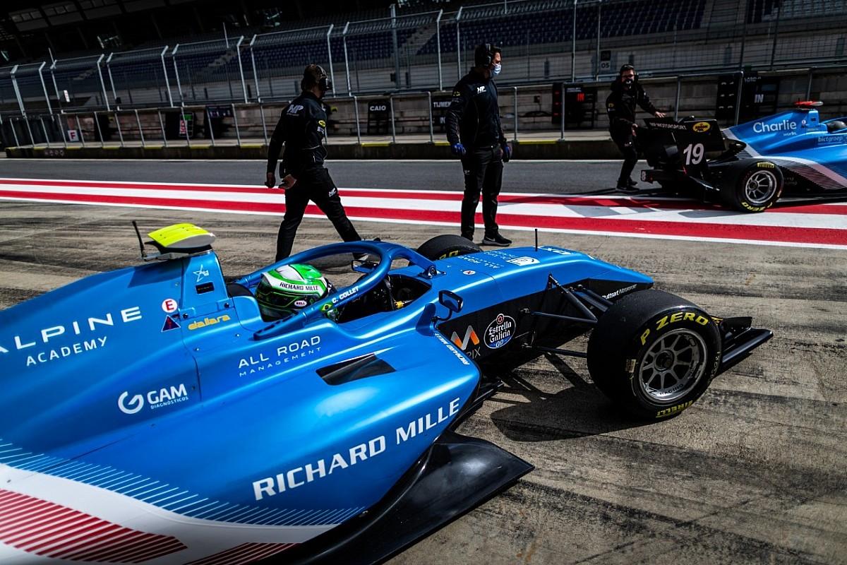 F3: Caio Collet encerra testes em Jerez com sexto melhor tempo