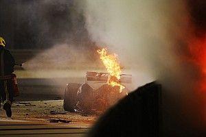 Este es el informe completo del accidente de Grosjean en Bahréin