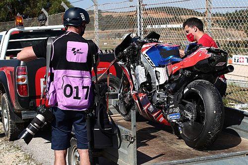 Мартин пропустит гонку MotoGP в Портимане после серьезной аварии в субботу