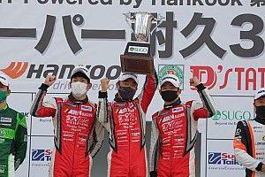 スーパー耐久第2戦SUGO:グループ1レースはPC Okazakiポルシェが今季初優勝