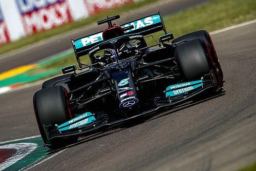 F1エミリア・ロマーニャGP予選:僅差のアタック合戦をハミルトン制す。ペレスが2番手、角田は20番手