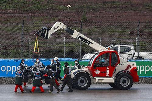 Vettel: Incident met kraan in Turkije valt 'niet te tolereren'