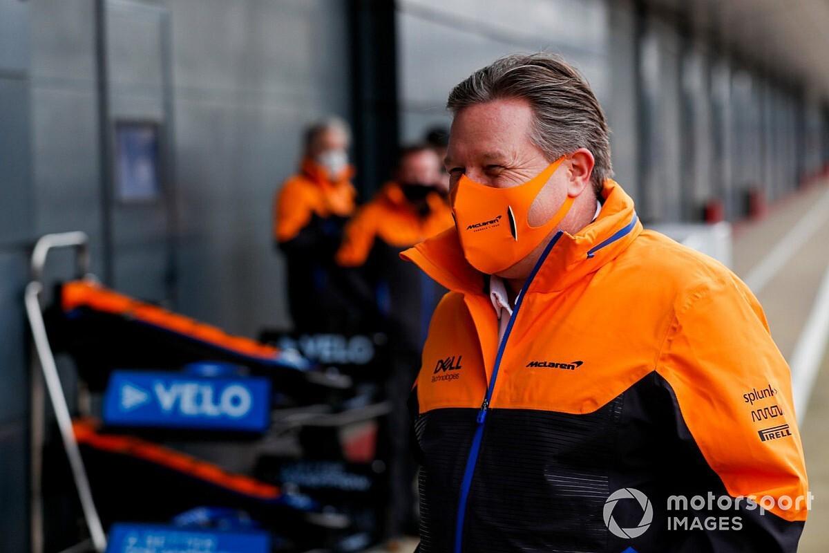 """Brown: """"McLaren'ın önceliği Formula 1"""""""