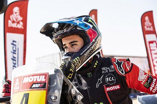 Cornejo abandonne après sa chute sur le Dakar